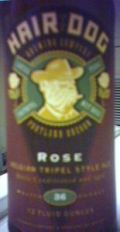 Hair of the Dog Rose - Abbey Tripel