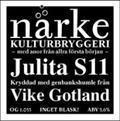 N�rke Julita S11 - Golden Ale/Blond Ale
