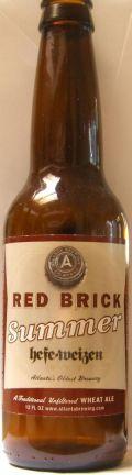 Red Brick Summer Brew Hefe-weizen - German Hefeweizen