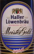 Haller-L�wenbr�u Meistergold Spezial