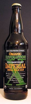 Butte Creek Organic Revolution X 10th Anniversary Imperial IPA