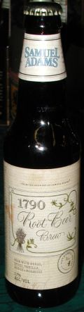 Samuel Adams 1790 Root Beer Brew - Spice/Herb/Vegetable
