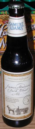 Samuel Adams James Madison Dark Wheat Ale