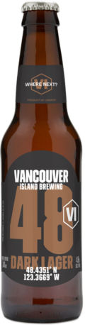 Vancouver Island Brewing 48 Dark Lager