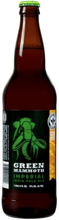 Laurelwood Green Mammoth Organic Imperial IPA