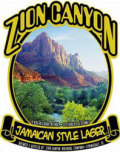 Zion Canyon Jamaican Lager - Premium Lager