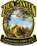 Zion Canyon Springdale Amber Ale - Amber Ale