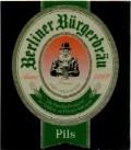Berliner B�rgerbrau Pils