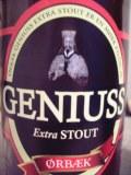 �rb�k Geniuss Extra Stout - Dry Stout