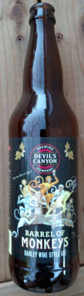 Devil�s Canyon Barrel of Monkeys Barleywine
