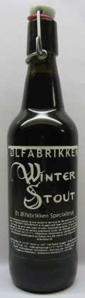 �lfabrikken Winter Stout - Imperial Stout