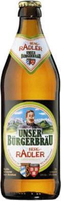 Unser B�rgerbr�u Berg-Radler - Radler/Shandy