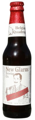 New Glarus Unplugged Belgian Quadruple