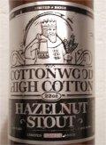 Carolina Beer Co. Cottonwood Hazelnut Stout