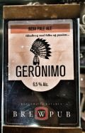 Brewpub K�benhavn Geronimo Indian Pale Ale