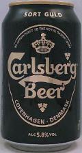 Carlsberg Sort Guld/ Black Gold