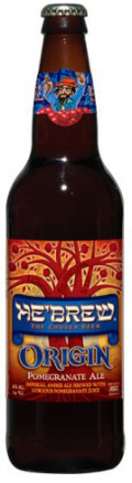 He�Brew Origin Pomegranate Ale