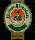 Berliner B�rgerbrau Dunkler Bock