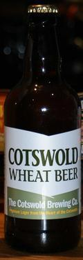 Cotswold Wheat Beer - German Hefeweizen