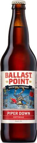 Ballast Point Piper Down Scottish Ale