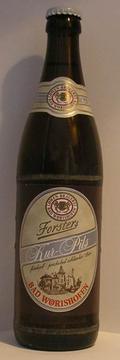 Bad Wörishofer Löwenbräu Forsters Kur-Pils
