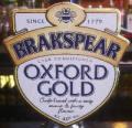 Brakspear Oxford Gold (Cask)