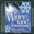 Hinterland Winterland - Porter