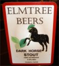 Elmtree Dark Horse Stout