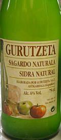 Gurutzeta Sagardo Sidra Natural
