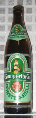 Gampertbr�u F�rster-Hell