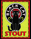 Valley Brew Black Cat Stout - Foreign Stout