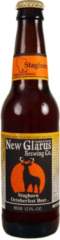 New Glarus Staghorn Octoberfest Beer - Oktoberfest/M�rzen