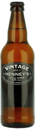Henney's Vintage Still Cider (Bottle)