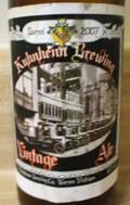 Kuhnhenn Vintage Ale
