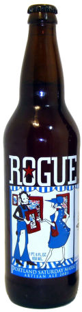 Rogue Portland Saturday Market Weekend Ale