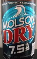 Molson Dry 7.5 - Malt Liquor