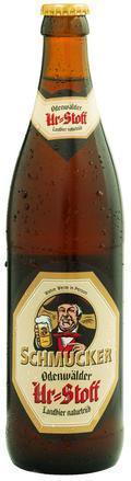 Schmucker Odenwälder Landbier (Ur-Stoff)