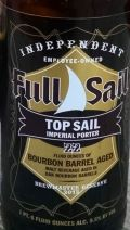 Full Sail Top Sail Imperial Porter Bourbon Barrel Aged - Imperial Porter