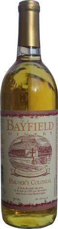 Bayfield Hausers Colonial Cider - Cider