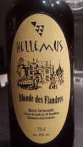 Hellemus Blonde des Flandres (8%) - Bi�re de Garde