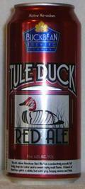 Buckbean Tule Duck Red Ale