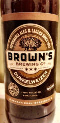 Brown�s Dunkelweizen - Dunkelweizen