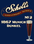 Schell Anniversary Series #2 - 1867 Munich Dunkel - Dunkel/Tmav�