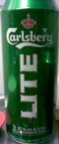 Carlsberg Lite 3.5%