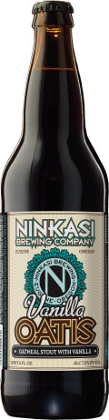 Ninkasi Oatis Oatmeal Stout - Vanilla - Sweet Stout