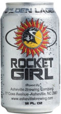 Asheville Rocket Girl - Premium Lager