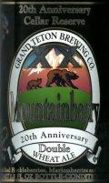 Grand Teton XX Mountainberry Double Wheat Ale