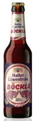 Haller-L�wenbr�u B�ckle Dunkles Bockbier