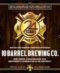 10 Barrel Code 24 Pale Ale - American Pale Ale