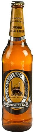 Wooden Hand Cornish Steam Lager